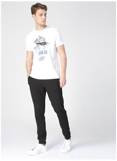Fabrika Sports Fabrika Sports Erkek Beyaz Baskılı T-Shirt Beyaz